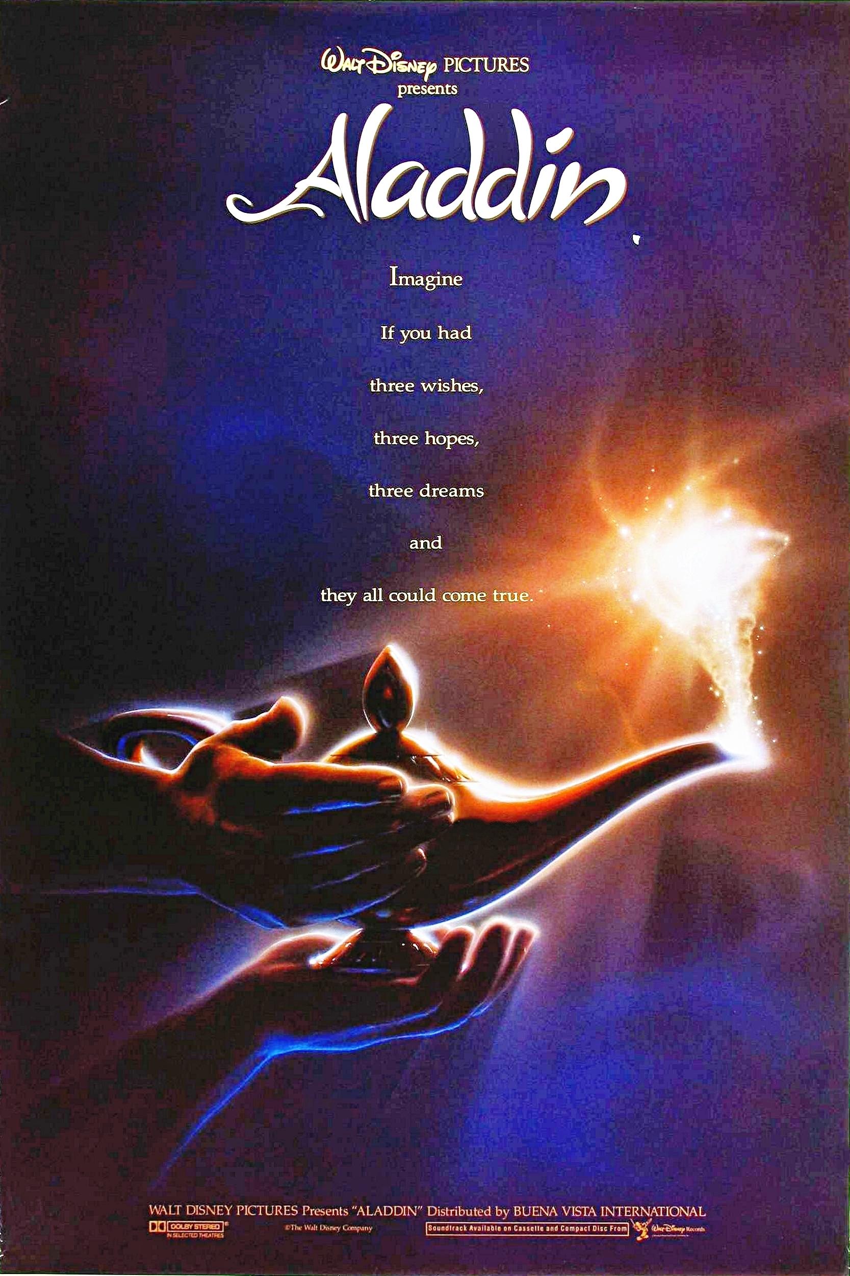 Aladdin Movie Poster The time Disney...