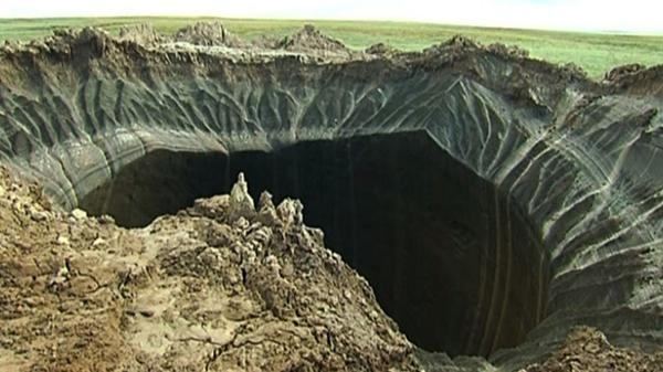 Mysterious holes in Siberia may be craters of climate change explosions