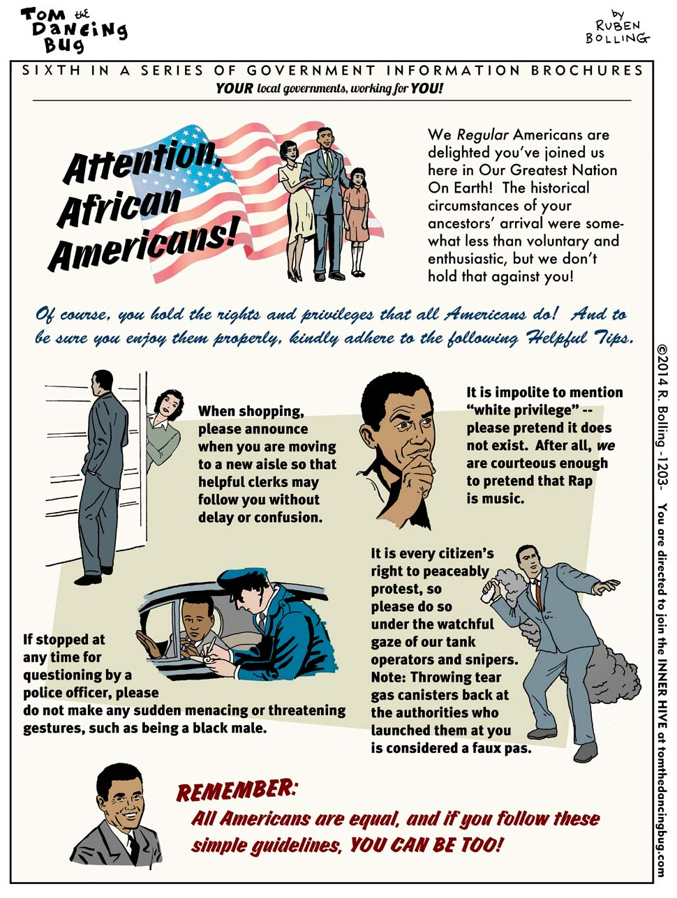 Attention- AMERICANS?