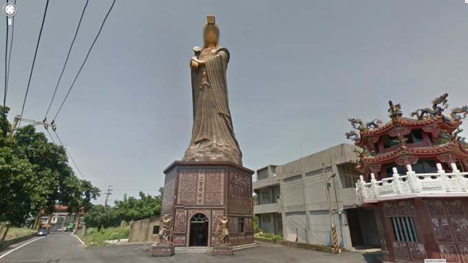 Anonymous Gods: The faces of deities captured, and blurred, by Google Street View