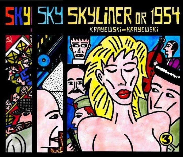 Kickstarting Skyliner; a graphic novel memoir about jazz behind the IronCurtain
