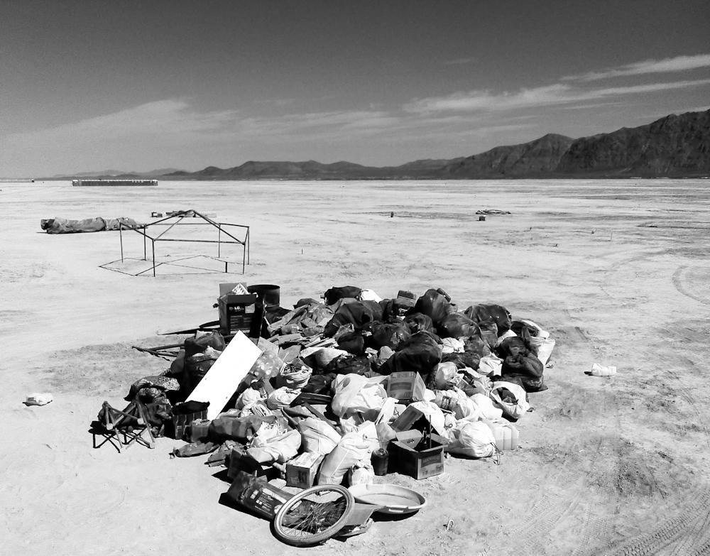 The filthiest camp at BurningMan