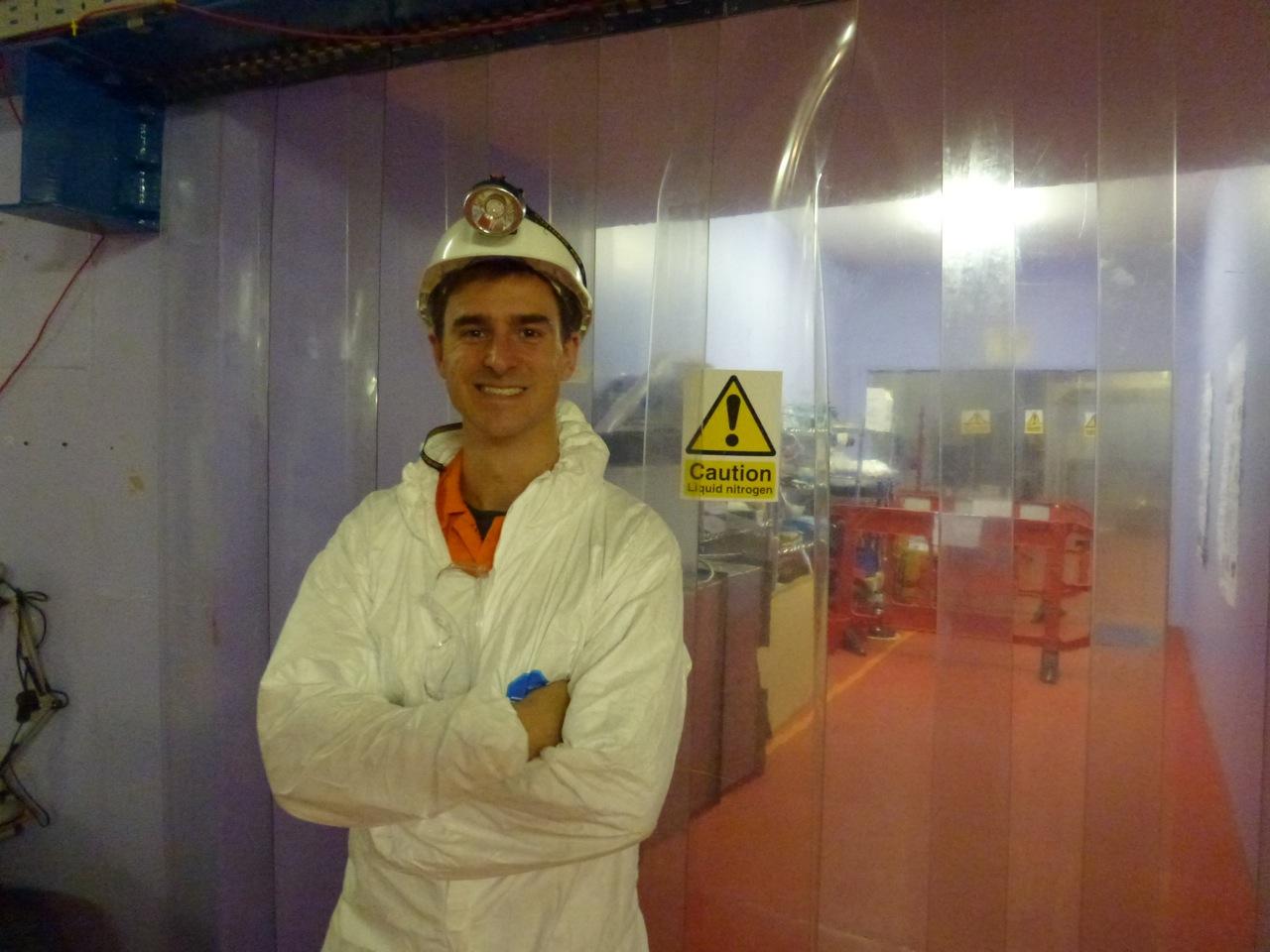 Down in the dark matterlab