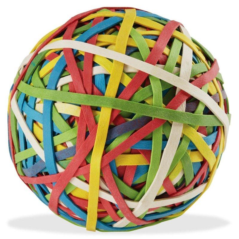 Rubber bandball
