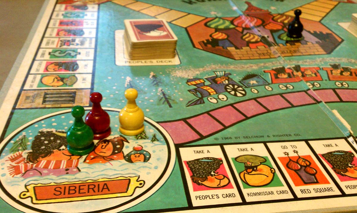 60s Board Games is a Vintage Board Game by