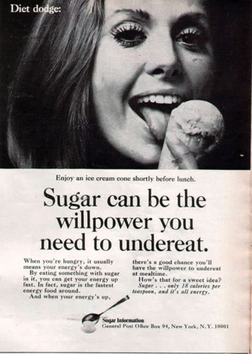 10 classic ads from the sugar and cerealindustries