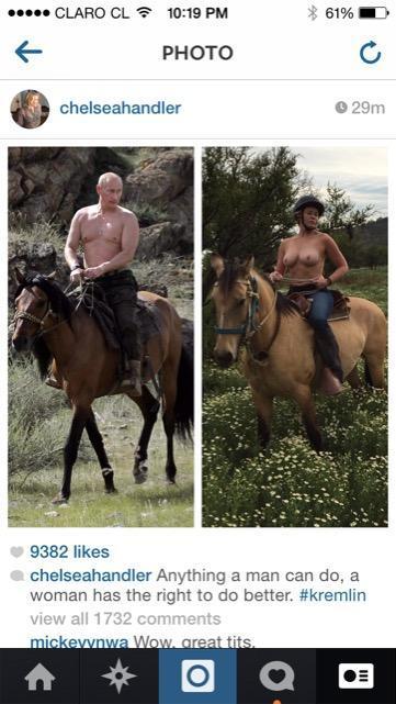 Chelsea Handler: Instagram's nipple policy issexist