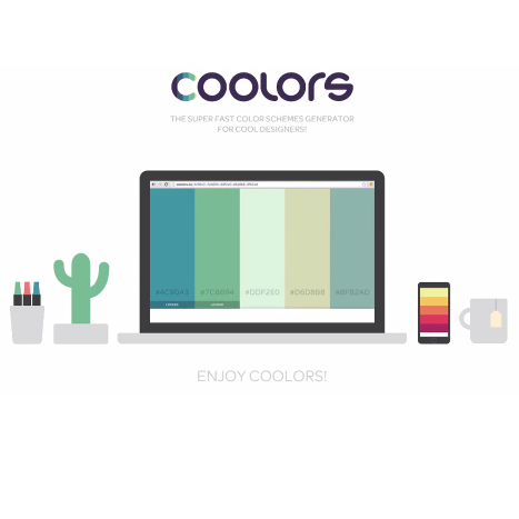 Color palette generator for designers in a hurry