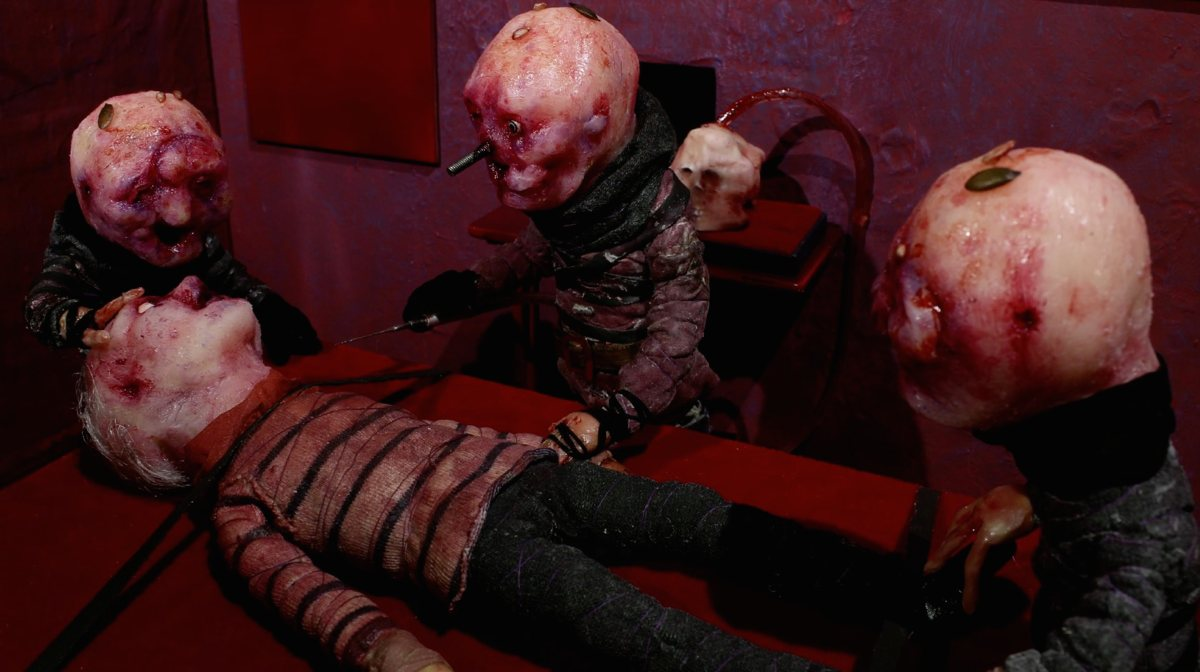 WATCH: Handmade stop-motion horror from ABCs of Death2