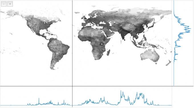 population-latitude-longitude