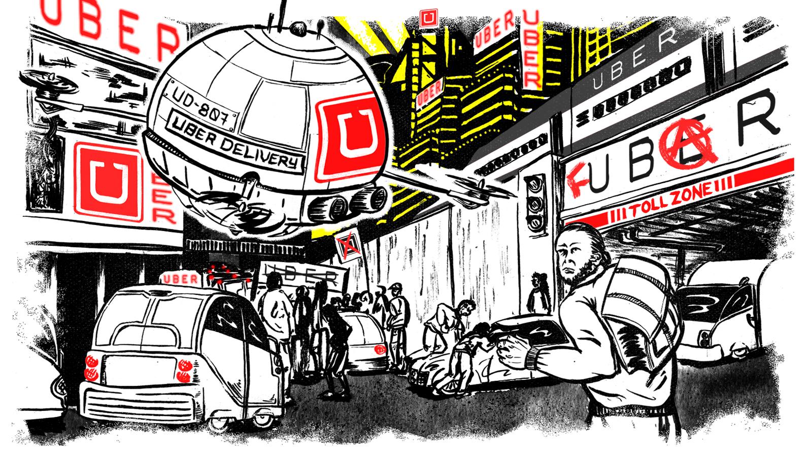 Uberdystopian: the surge-priced nightmarefuture
