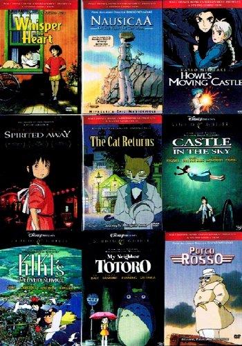 Nine Movie Best Of Miyazaki Box Set Boing Boing