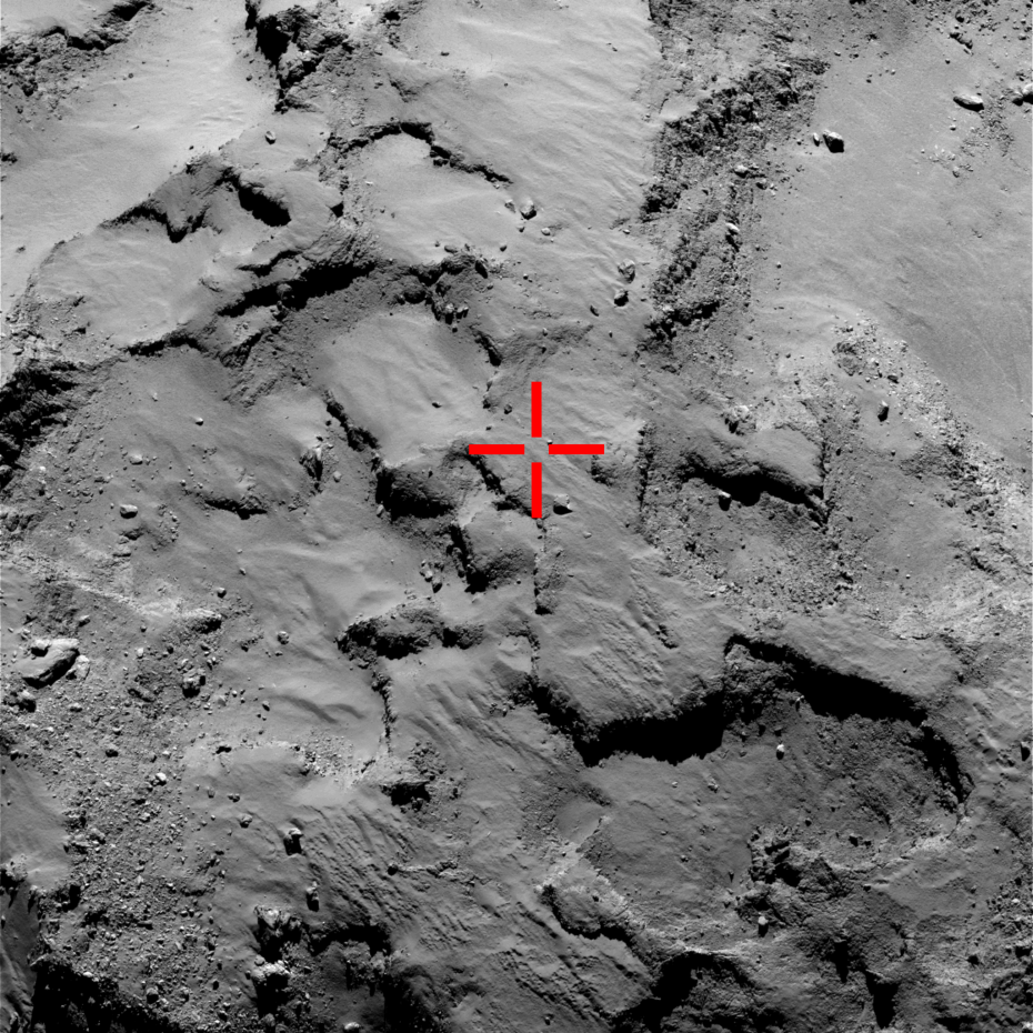 Concern about Philae's fate as lander sends back first image from comet
