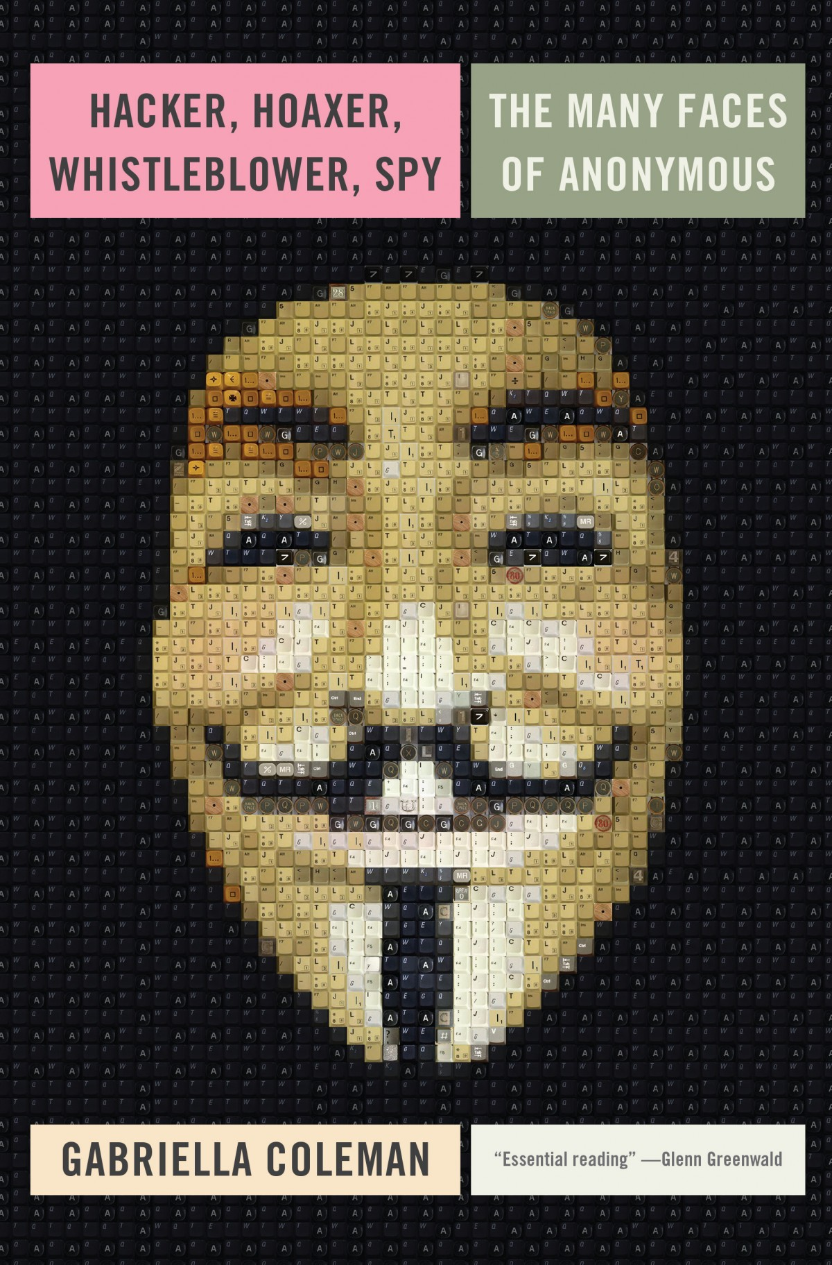 Hacker, Hoaxer, Whistleblower, Spy: The Many Faces of Anonymous Cover