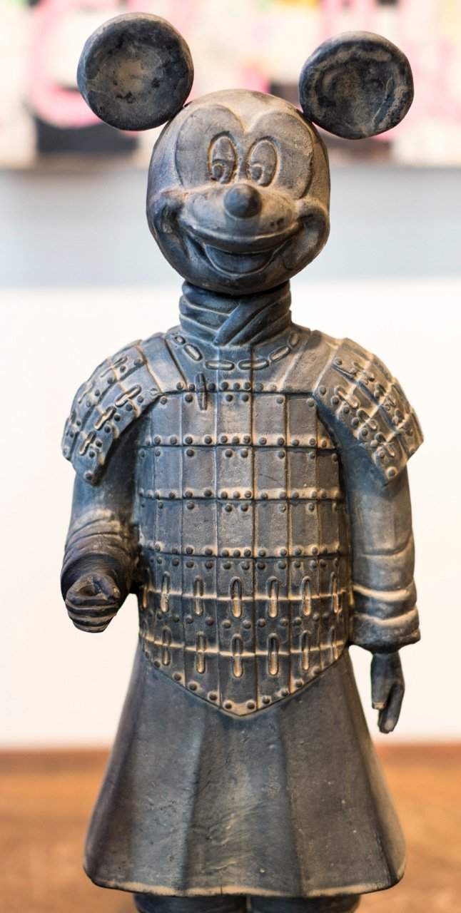 Fantastic Terracotta Warrior Statues Of Mickey Mouse Bart