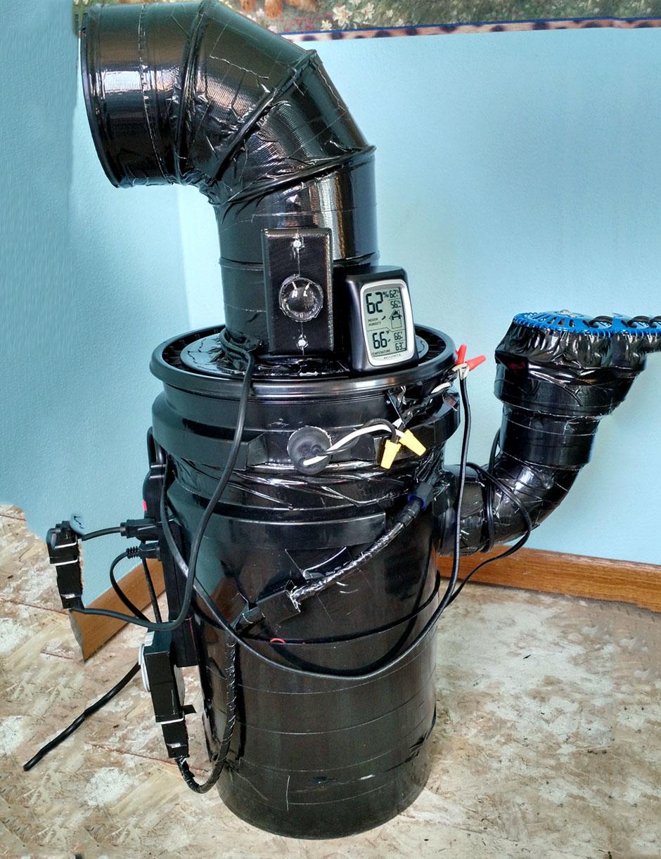 Space Buckets Diy Indoor Gardening Units Boing Boing