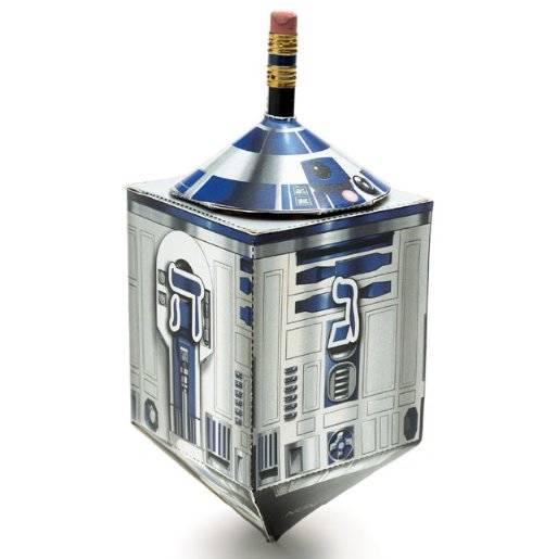 Papercraft R2-D2dreidel