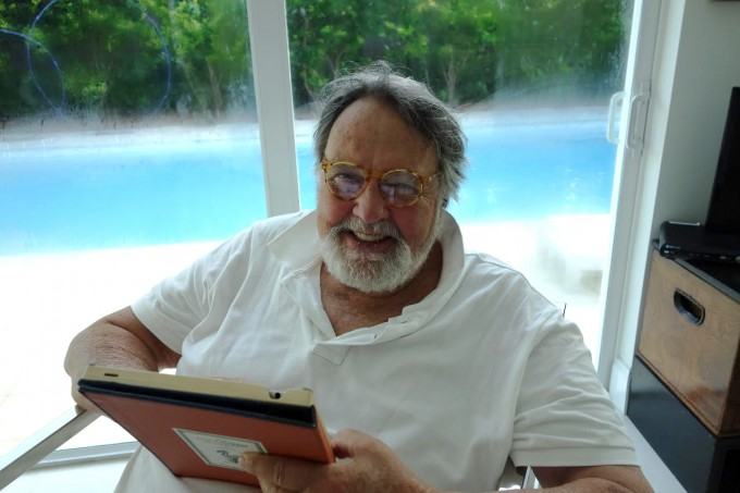 "R.A Montgomery, co-author of children's book series ""Choose Your Own Adventure,"" died on Nov. 9 in Vermont. He was 78. Photo courtesy of Shannon Gilligan/Chooseco, LLC"