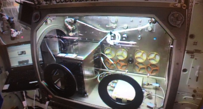 Các Made In máy in Space, và chạy trên ISS.