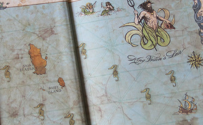 The Expeditioners and the Secret of King Triton'sLair
