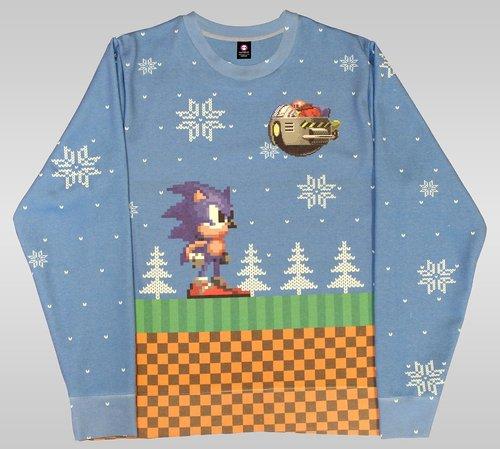 Street Fighter ugly Christmas jumper / Boing Boing