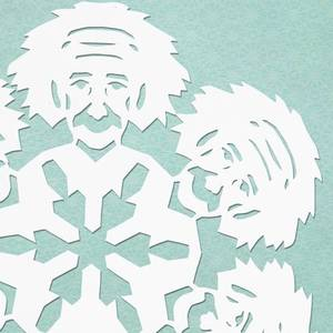 HOWTO cut paper snowflakes in the likeness of Nobel physics ...