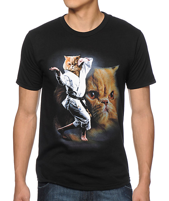 A-Lab-Karate-Cat-T-Shirt-_238195