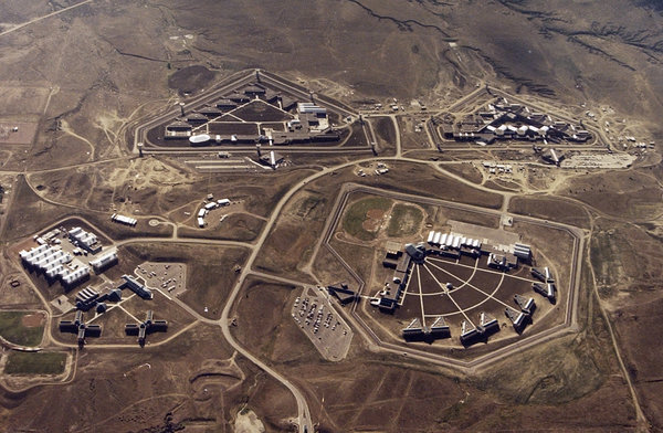 After the Sept. 11 attacks, the C.I.A. considered operating overseas prisons similar to American penitentiaries, like the one in Florence, Colorado. [Photo: Bureau of Prisons via NYT]