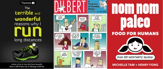 Discounted ebooks for readers who own Dilbert, Oatmeal and Nom Nom Paleo books