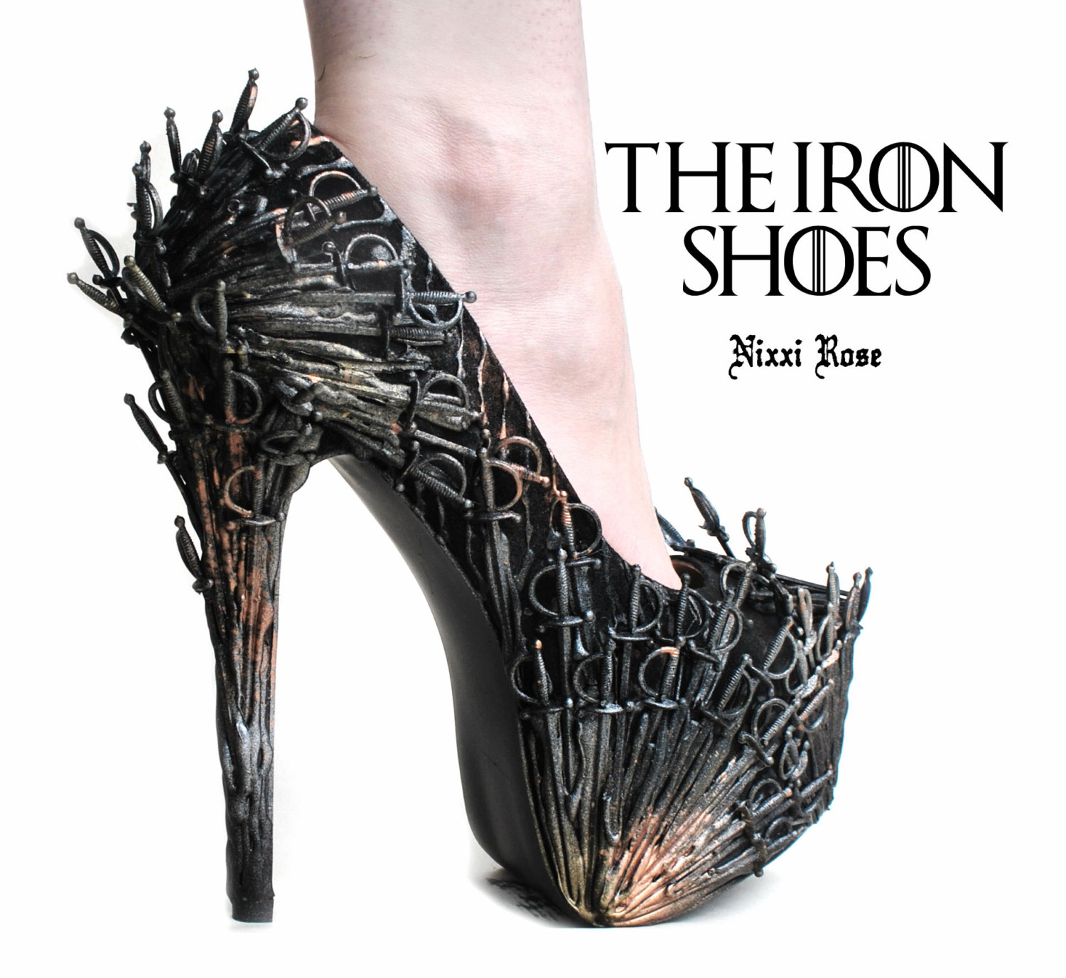 Game Of Thrones Sword Covered High Heels Boing Boing
