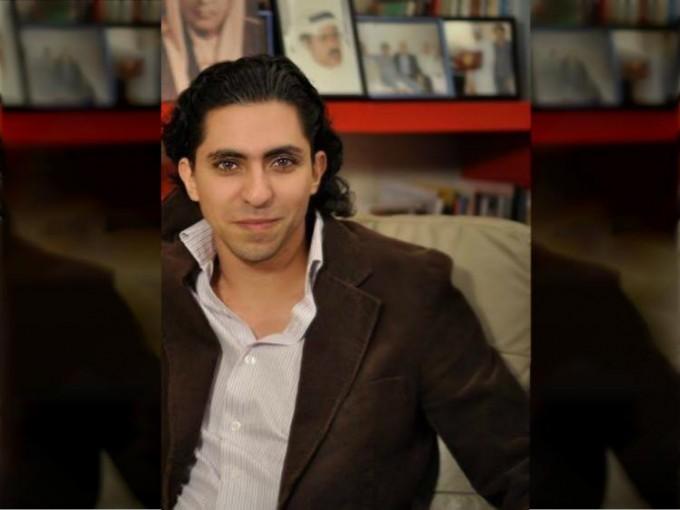 Saudi blogger Raif Badawi. Image via Facebook.
