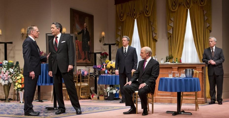 "To do in Tucson & Phoenix: the Arizona Theater Company presents: ""FivePresidents"""