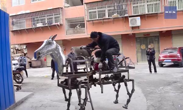 gas-horse