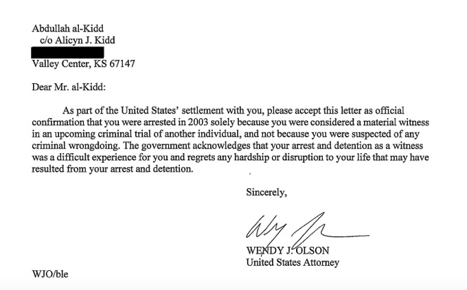 U.S. gives lamest non-apology ever to wrongly imprisoned former war-on-terror detainee