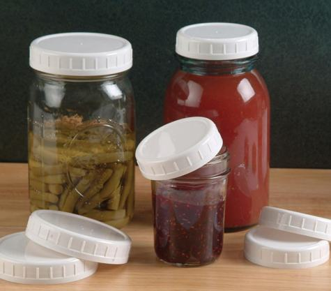 plastic storage caps for wide mouth canning jars boing boing. Black Bedroom Furniture Sets. Home Design Ideas