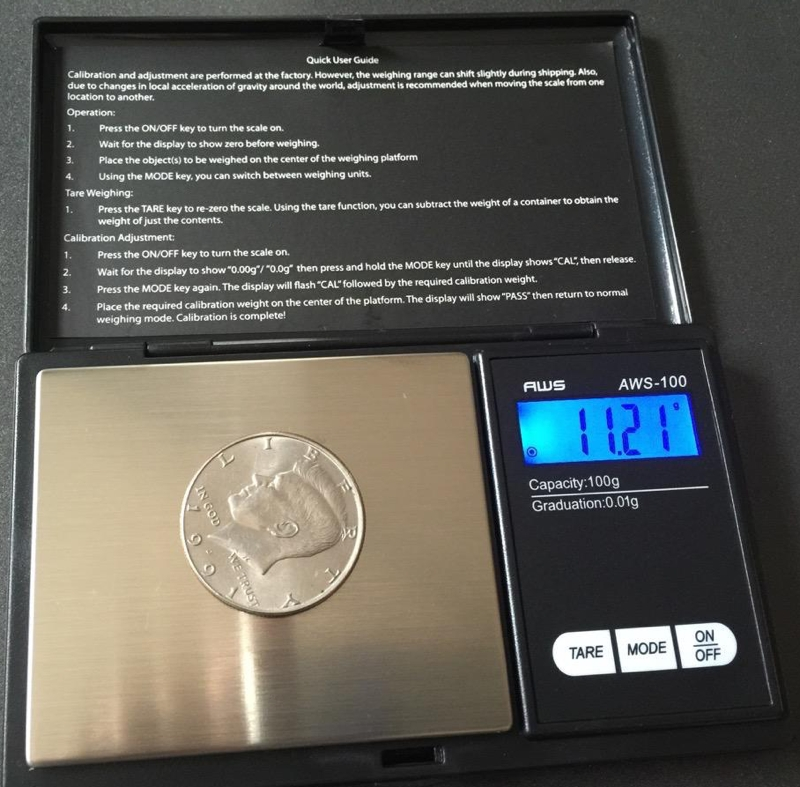 I M Having Fun With My Digital Scale That Has 0 01g Readability Boing Boing