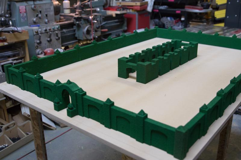 Watch Adam Savage build a model of the maze from The Shining