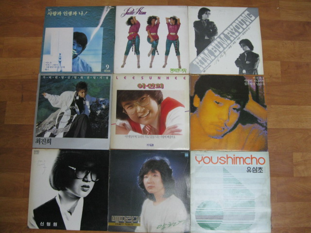 """Korean pop music before """"K-pop"""": three six-hour mixes of 70s and 80s hits"""