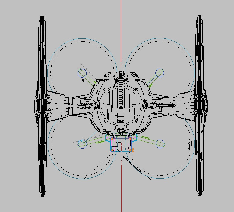 Watch: Amazing DIY Millennium Falcon drone in flight