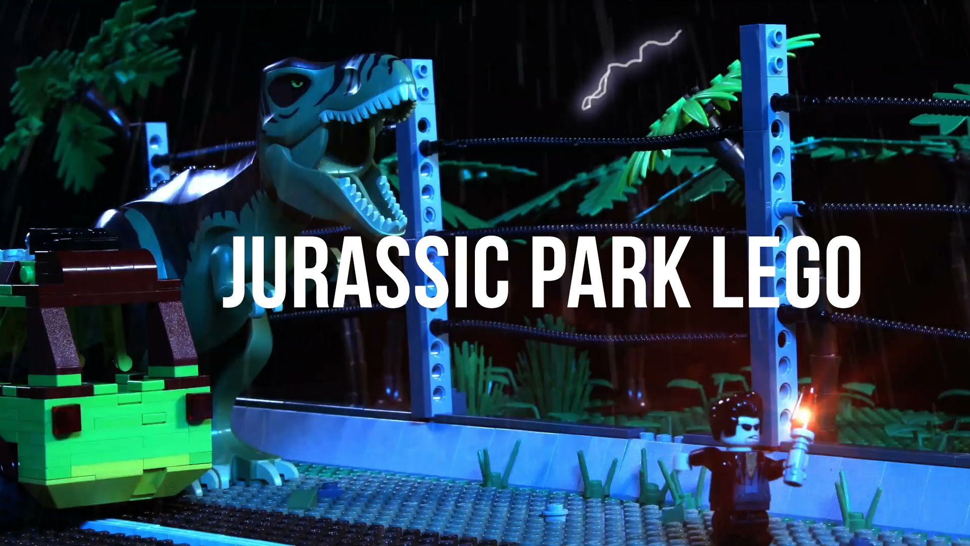 Lego jurassic park the motion picture boing boing - Jurasic park lego ...