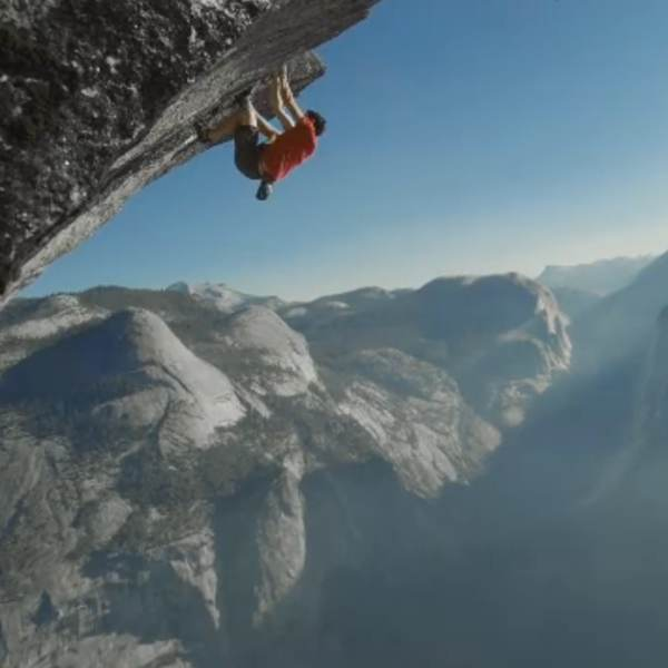 Alex Honnold's death-defying ropeless cliff climbs