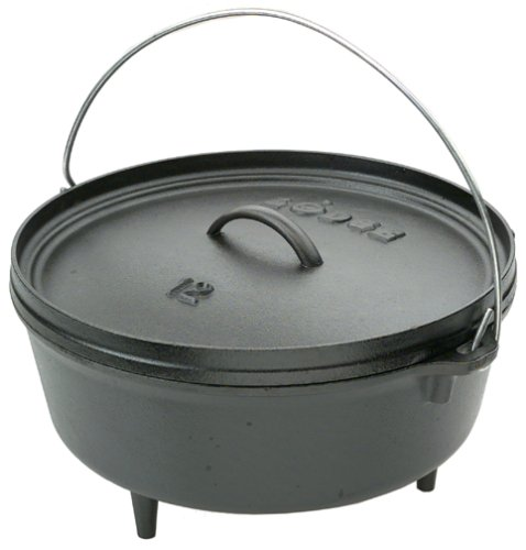 An awesome cast iron dutch oven for camping