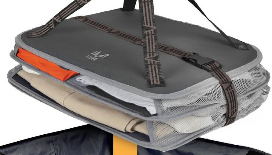 Travel Smart With Hanging Compression Shelves Boing Boing