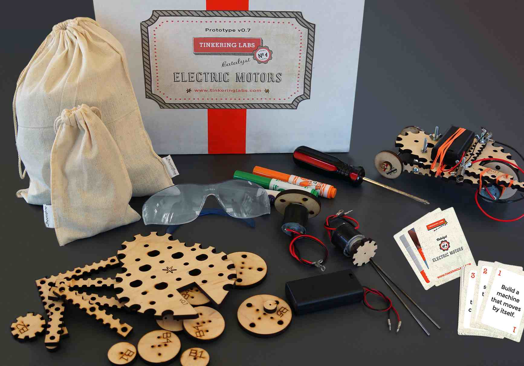 """Tinkering Labs' Catalyst, a new maker education """"kit"""""""