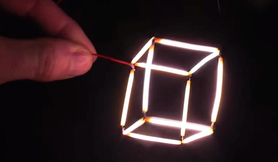 Watch Make Light Cubes And Other Cool Stuff With Tiny Led