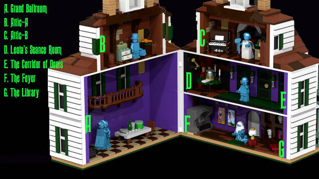 Haunted Mansion Lego Boing Boing
