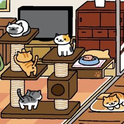 I can't stop collecting cats in this Japanese smartphone game