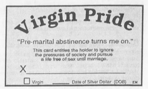 The value in teaching abstinence to society