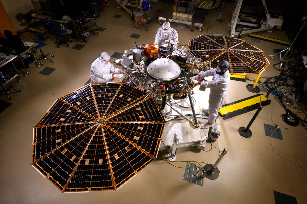 NASA is testing a new Mars lander set to launch next March to study planet's mysterious core