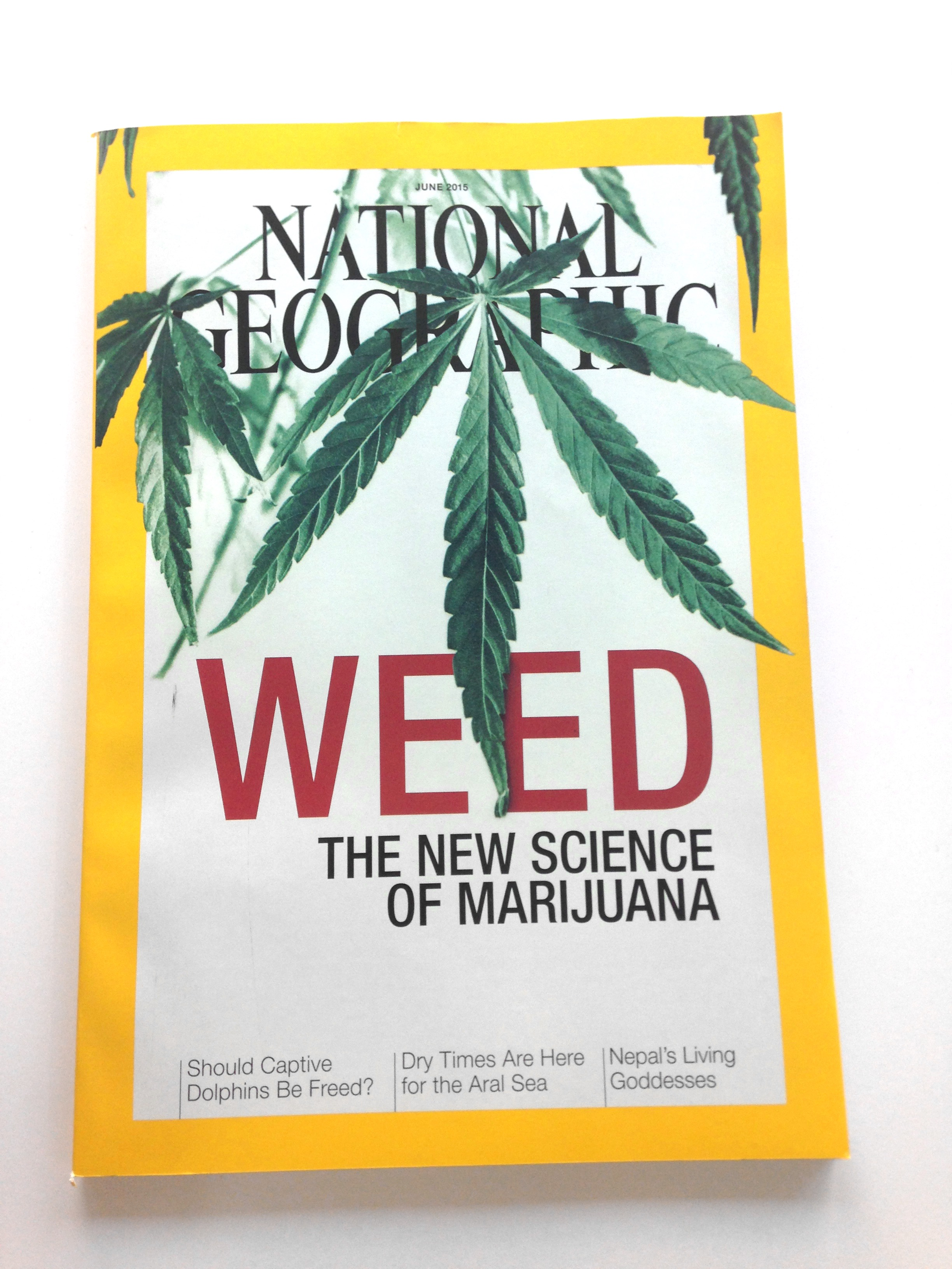 National Geographic loves weed so much, they're devoting an entire print issue to it